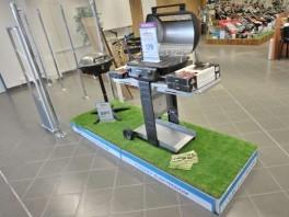 Inštalácia trávniku v NAY Elektrodom